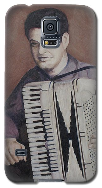 Daddy And His Accordion Galaxy S5 Case