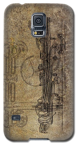 Galaxy S5 Case featuring the photograph Dads Clarinet by Jeffrey Jensen