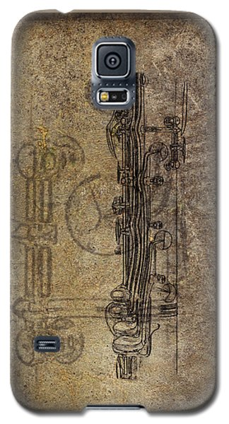 Dads Clarinet Galaxy S5 Case