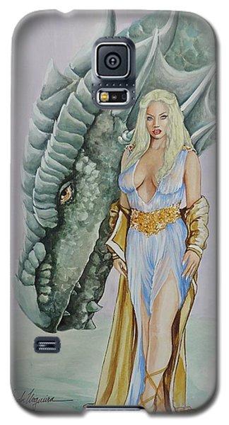 Daenerys Targaryen - Game Of Thrones Galaxy S5 Case