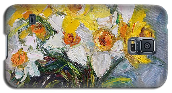 Daffodil In Spring  Galaxy S5 Case