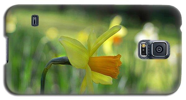Daffodil Side Profile Galaxy S5 Case