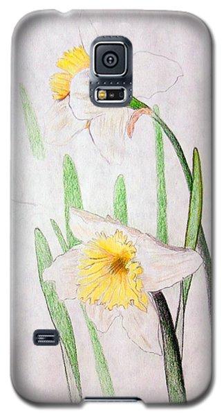 Daffodils Galaxy S5 Case by J R Seymour