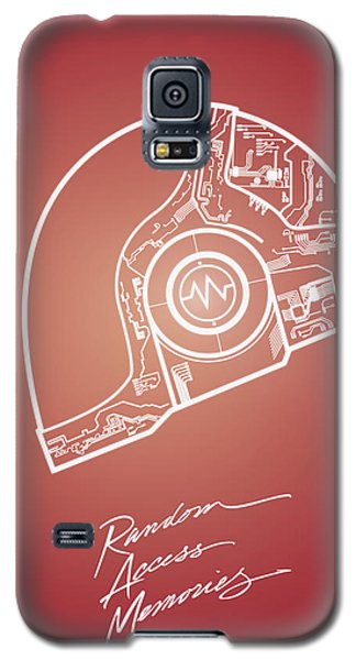 Daft Punk Guy Manuel Poster Random Access Memories Digital Illustration Print Galaxy S5 Case