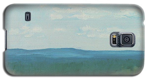 Dagrar Over Salenfjallen- Shifting Daylight Over Distant Horizon 3 Of 10_0029 50x40 Cm Galaxy S5 Case