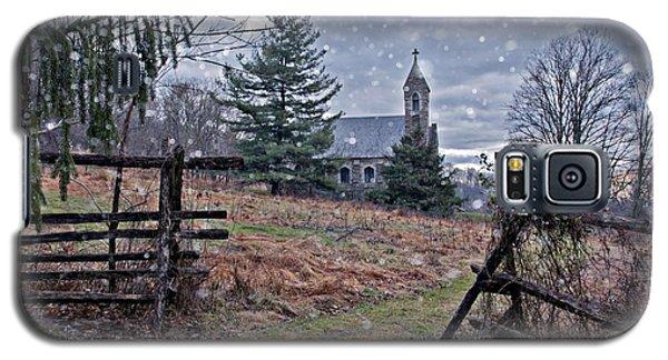 Dahlgren Chapel Winter Scene Galaxy S5 Case