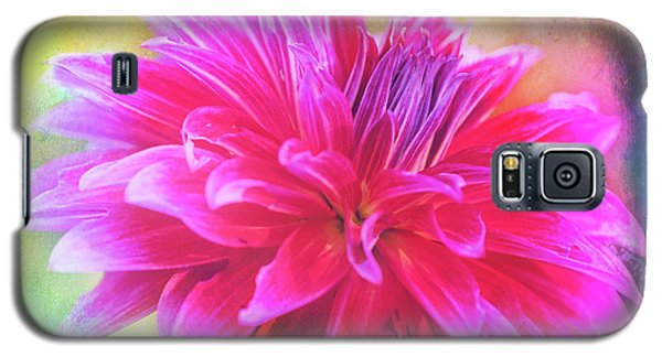 Dahlia Abstract Galaxy S5 Case