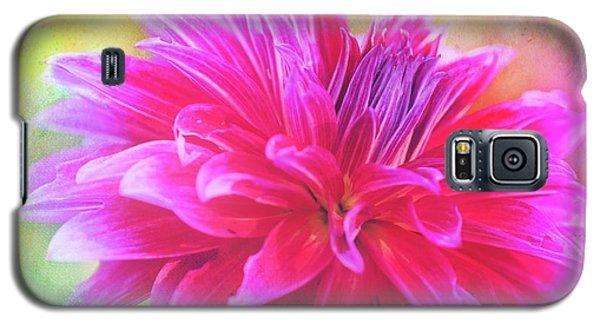 Dahlia Abstract Galaxy S5 Case