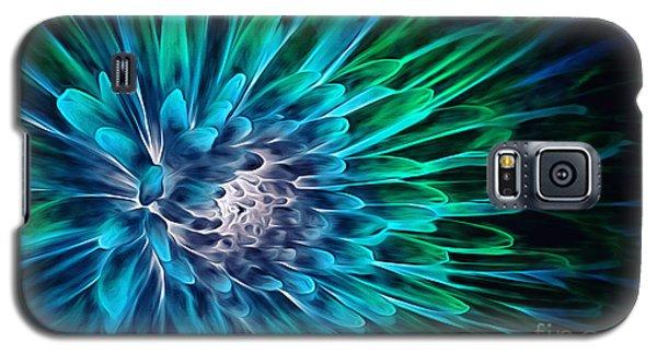 Dahlia Abstract Vibrance Galaxy S5 Case