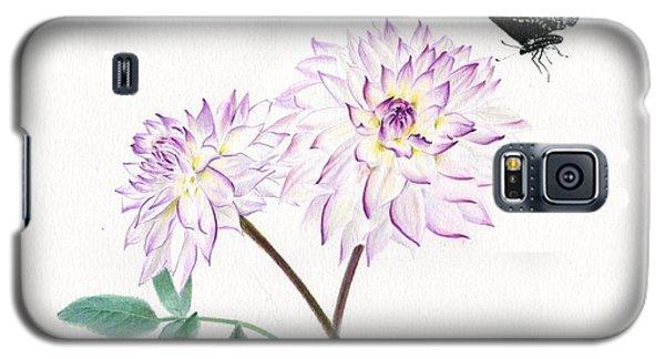 Dahlia Crazy Love Galaxy S5 Case