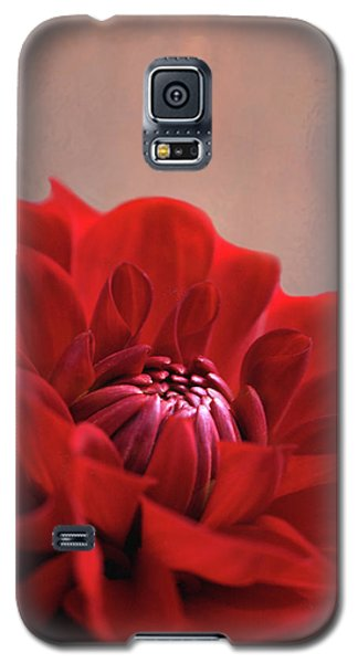 Galaxy S5 Case featuring the photograph Dahlia Dalliance  by Marion Cullen