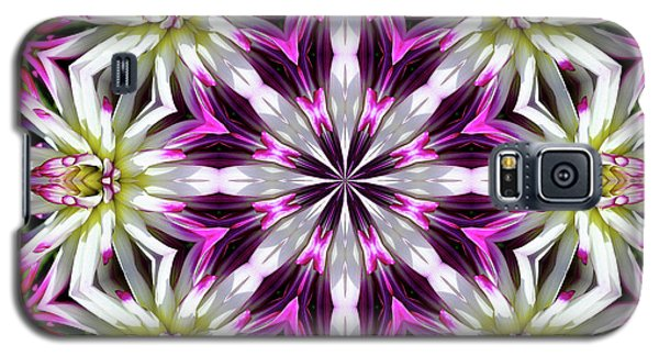 Dahlia Flower Circle Galaxy S5 Case