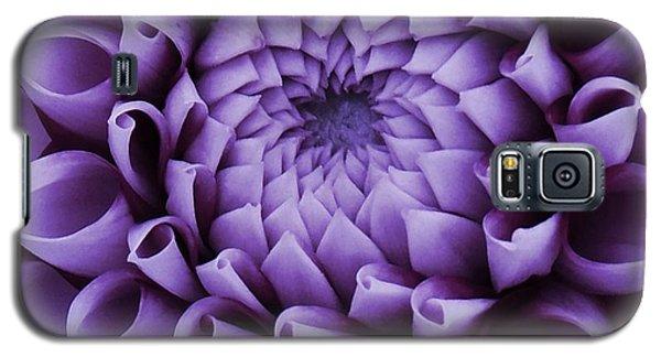 Dahlia Macro In Lavender Galaxy S5 Case