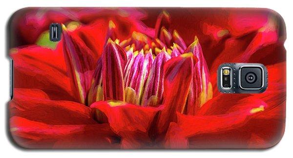 Dahlia Study 1 Painterly Galaxy S5 Case