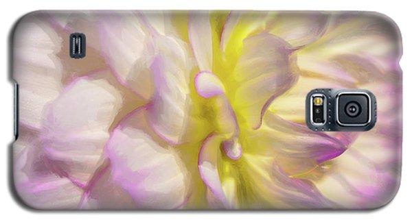 Dahlia Study 5 Painterly  Galaxy S5 Case