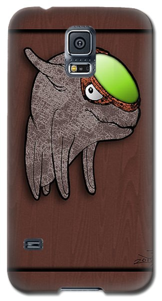 Galaxy S5 Case featuring the drawing Daiki The Great Radiance by Uncle J's Monsters