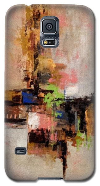 Galaxy S5 Case featuring the painting Daily #5 by Suzzanna Frank