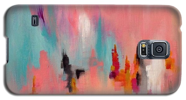 Galaxy S5 Case featuring the painting Daily #6 by Suzzanna Frank