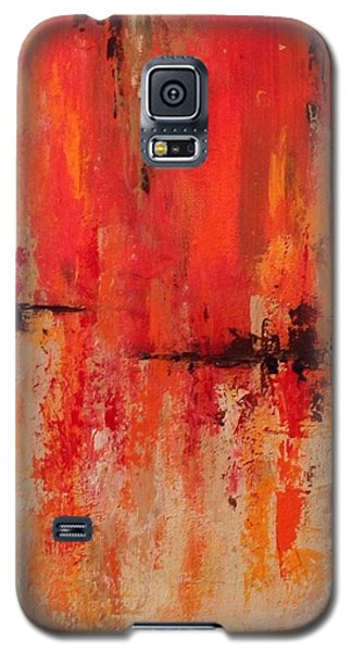 Galaxy S5 Case featuring the painting Daily  by Suzzanna Frank