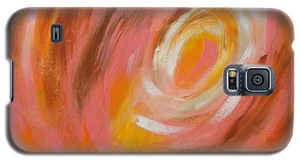 Galaxy S5 Case featuring the painting Daily#3 by Suzzanna Frank