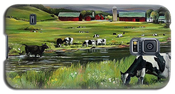 Dairy Farm Dream Galaxy S5 Case by Nancy Griswold