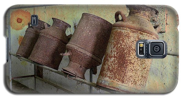 Galaxy S5 Case featuring the photograph Dairy Farm Relics by Scott Kingery