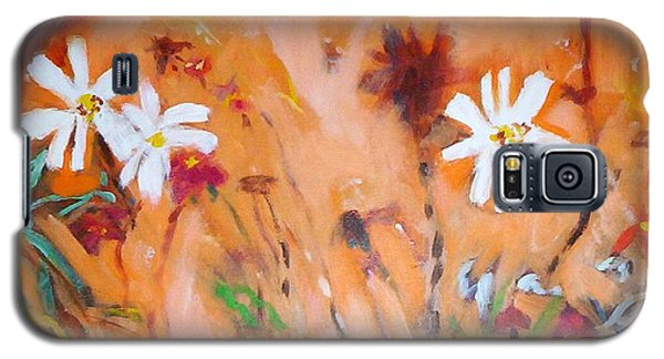 Daisies Along The Fence Galaxy S5 Case