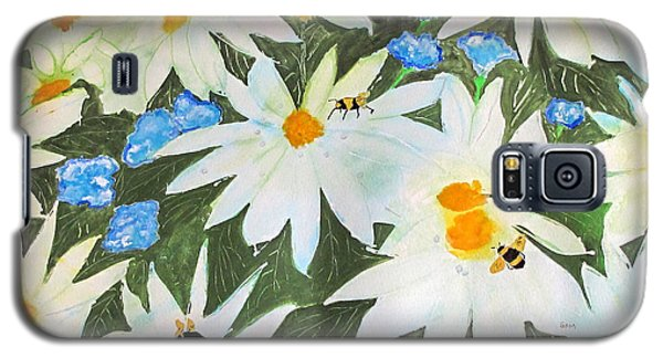 Daisies And Bumblebees Galaxy S5 Case