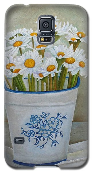 Daisies And Porcelain Galaxy S5 Case