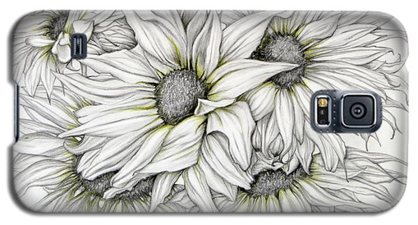 Sunflowers Pencil Galaxy S5 Case