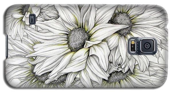 Sunflowers Pencil Galaxy S5 Case