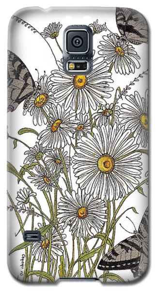 Galaxy S5 Case featuring the painting Daisy At Your Feet by Stanza Widen
