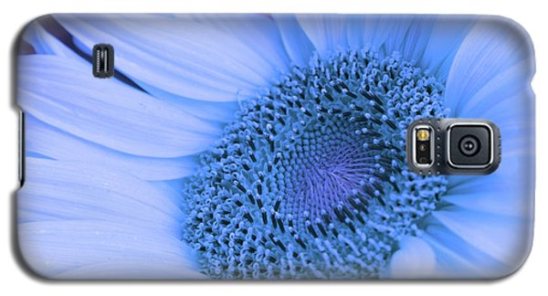 Galaxy S5 Case featuring the photograph Daisy Blue by Marie Leslie