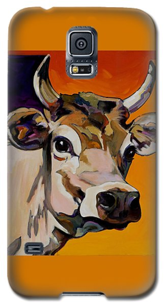 Galaxy S5 Case featuring the painting Daisy by Bob Coonts
