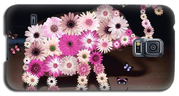 Daisy Elephant Galaxy S5 Case by Donna Bentley