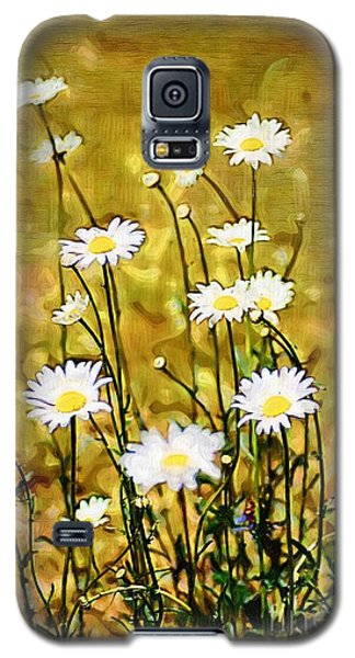 Galaxy S5 Case featuring the photograph Daisy Field by Donna Bentley