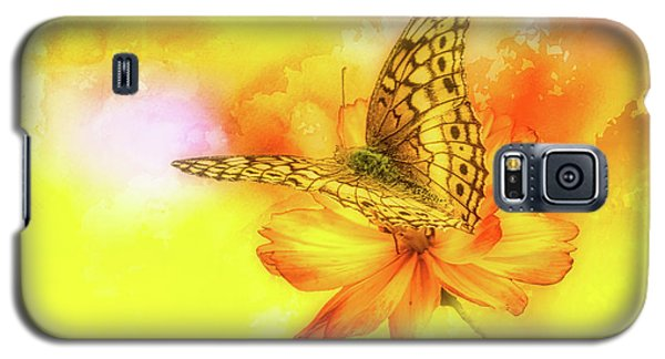 Daisy For A Butterfly Galaxy S5 Case