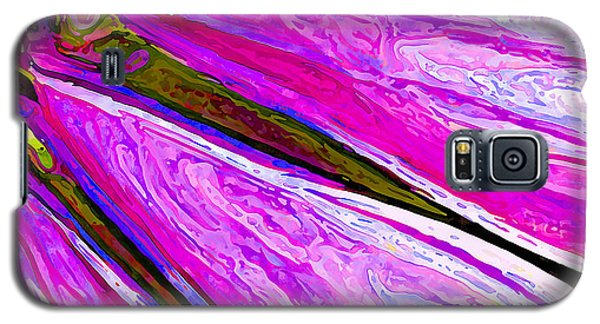 Daisy Petal Abstract 1 Galaxy S5 Case by ABeautifulSky Photography