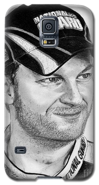 Galaxy S5 Case featuring the drawing Dale Earnhardt Jr In 2009 by J McCombie