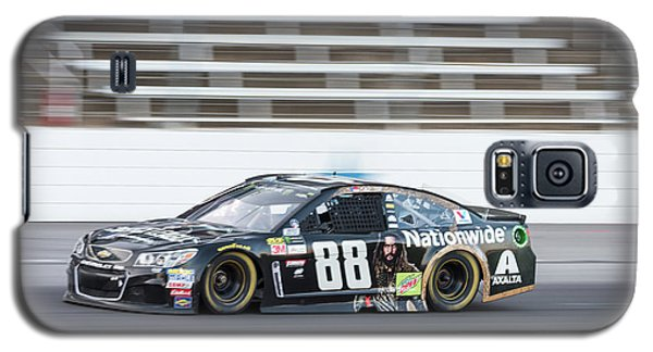 Dale Earnhardt Jr Running Hard At Texas Motor Speedway Galaxy S5 Case