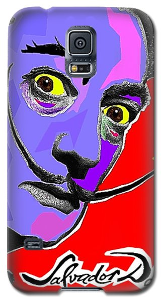 Galaxy S5 Case featuring the painting Dali Dali by Hartmut Jager