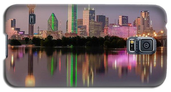 Dallas City Reflection Galaxy S5 Case