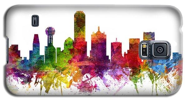 Dallas Cityscape 06 Galaxy S5 Case by Aged Pixel