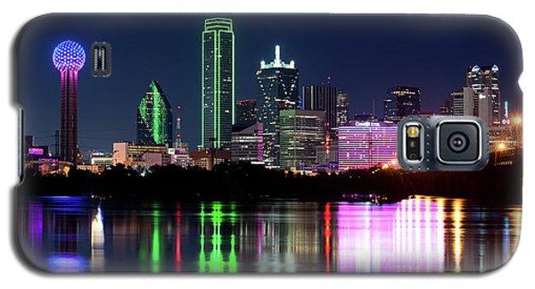 Dallas Colorful Night 52716 Galaxy S5 Case