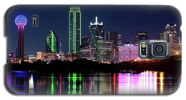 Dallas Colorful Night 52716 Galaxy S5 Case