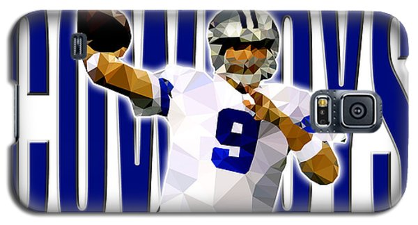 Galaxy S5 Case featuring the digital art Dallas Cowboys by Stephen Younts