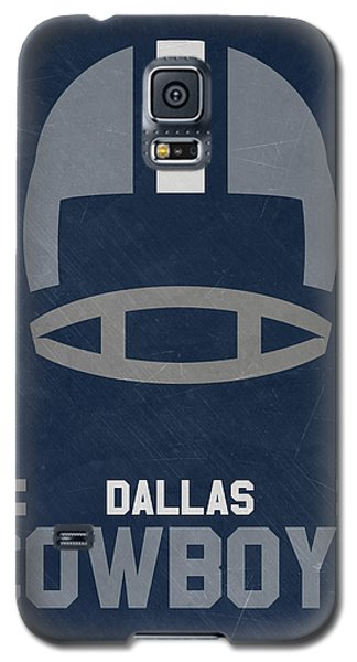 Dallas Cowboys Vintage Art Galaxy S5 Case by Joe Hamilton