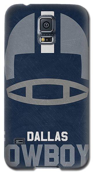 Dallas Cowboys Vintage Art Galaxy S5 Case by Joe Hamilton