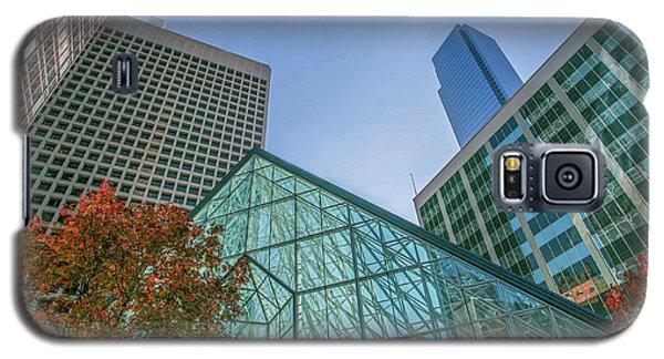 Dallas Crystal Court Pyramid  Galaxy S5 Case
