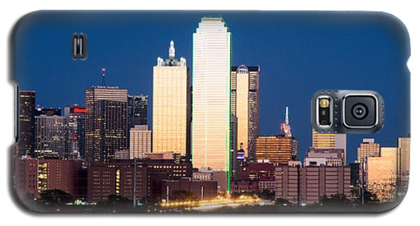 Dallas Golden Pano Galaxy S5 Case